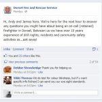 Dorset Fire Service Facebook Q&A