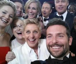 Ellen DeGeneres' Oscars Selfie Breaks Twitter