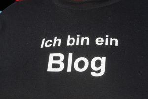 ich bin ein blog
