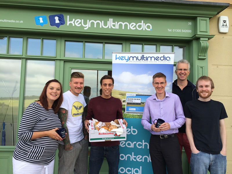Wessex FM visits Key Multimedia