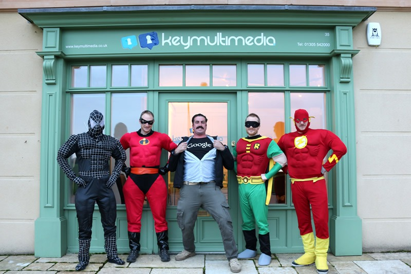 Superheroes Spotted in Poundbury