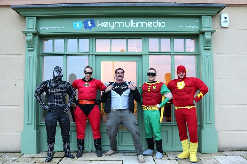The Key Multimedia super heros