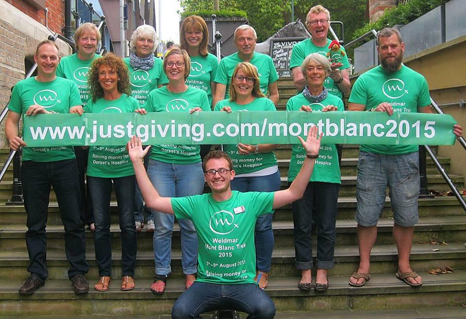 Toby Completes Mont Blanc Trek for Weldmar
