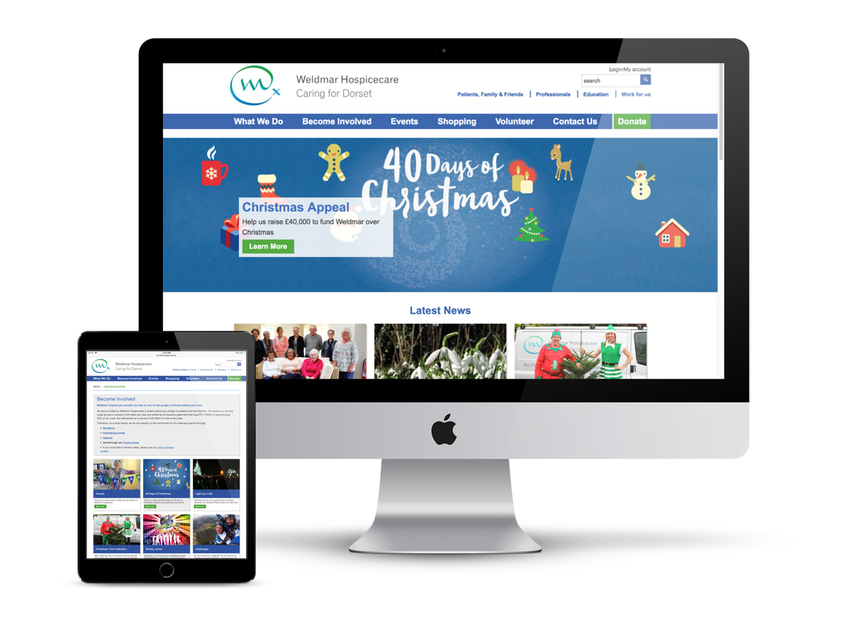 A new website for Weldmar Hospicecare