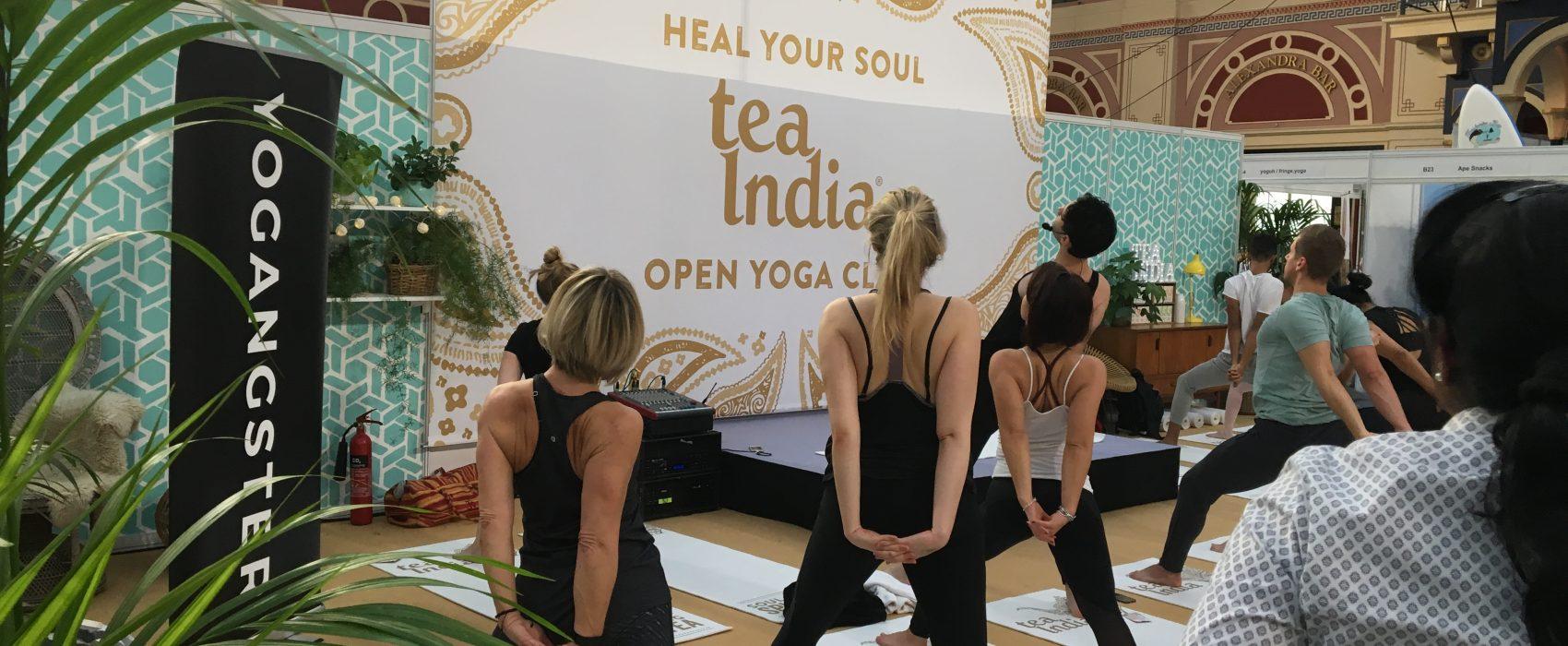 Insta-Success at the OM Yoga Show