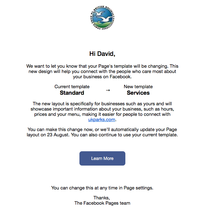 facebook business page changes are coming key digital