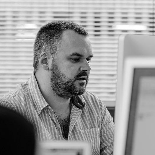 Jamie Homer - head of creative at Key digital