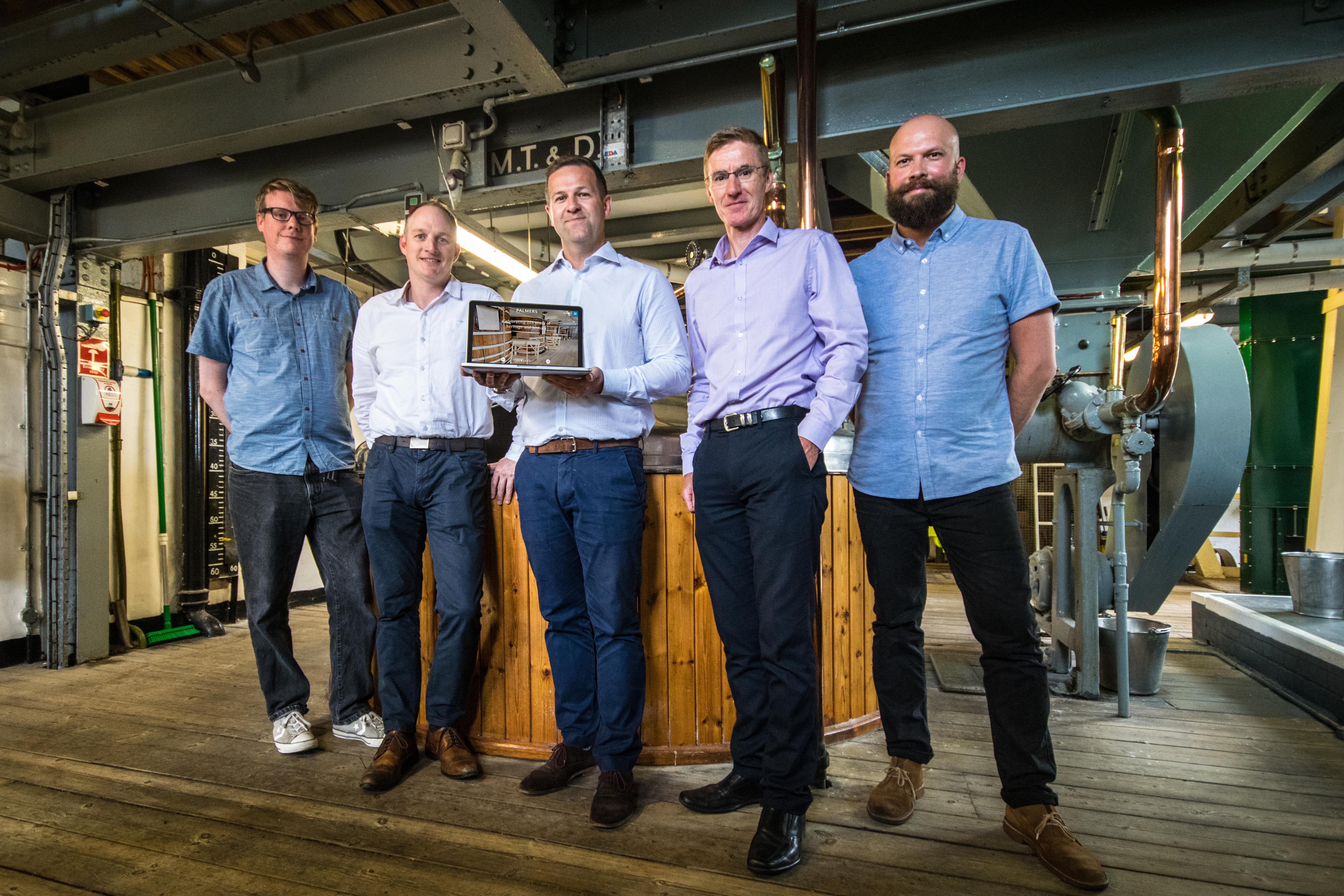 Palmers Brewery - team shot