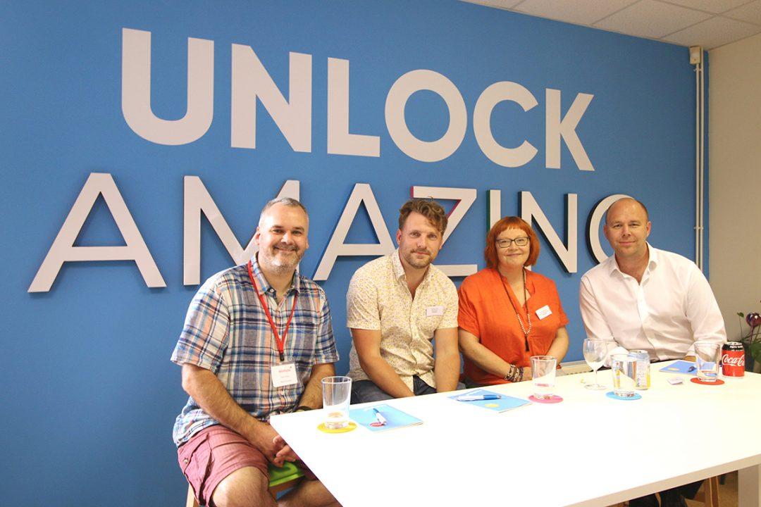 key digital unlock digital creativity at networking event in Poundbury Dorset