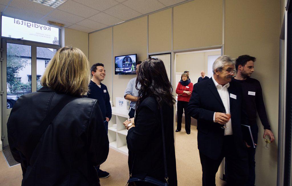 key digital unlock networking event in poundbury dorset