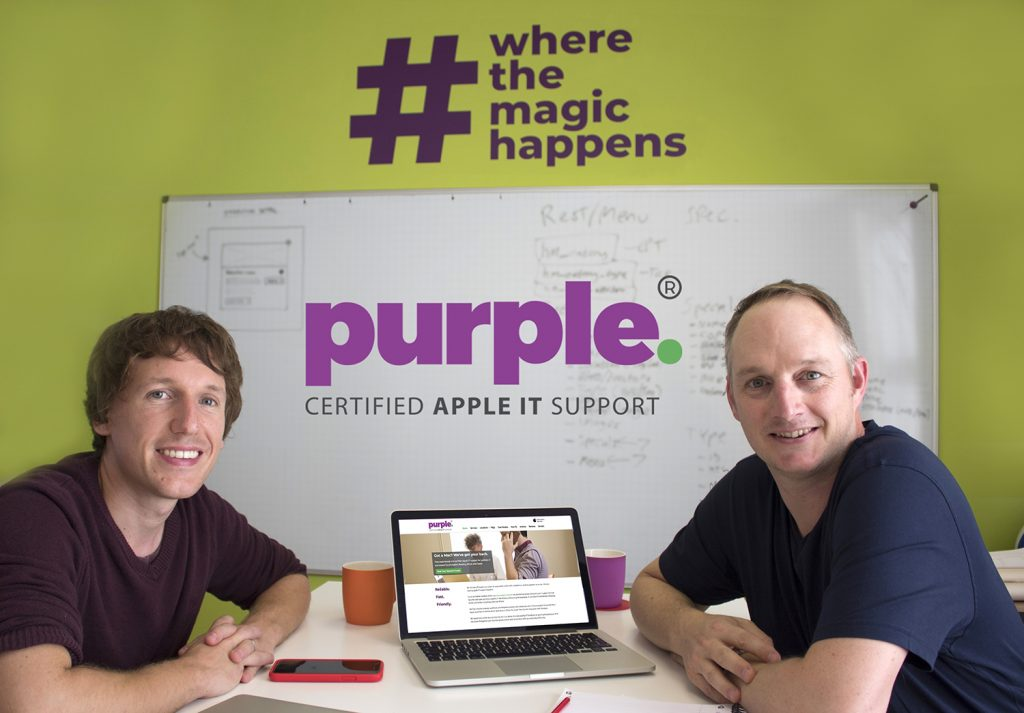 James Hart from Purple Computing with Toby McConnell from Key Digital