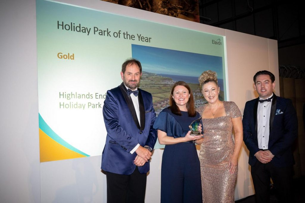 highlands end holiday park of the year