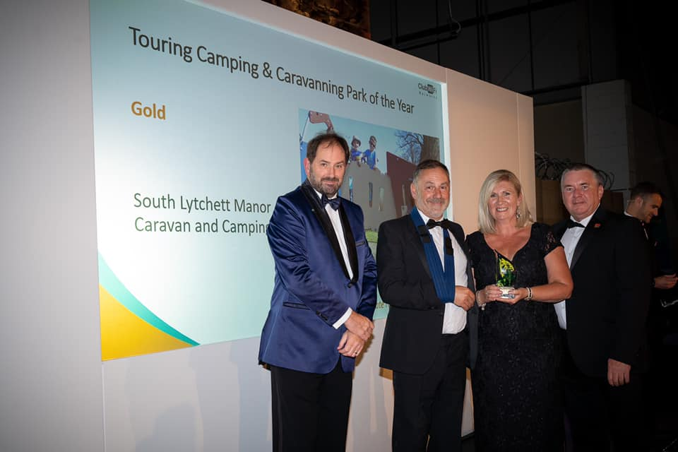 south lychett manor win gold at dorset tourism awards
