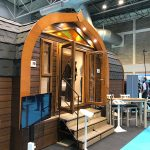 Deluxe glamping pods