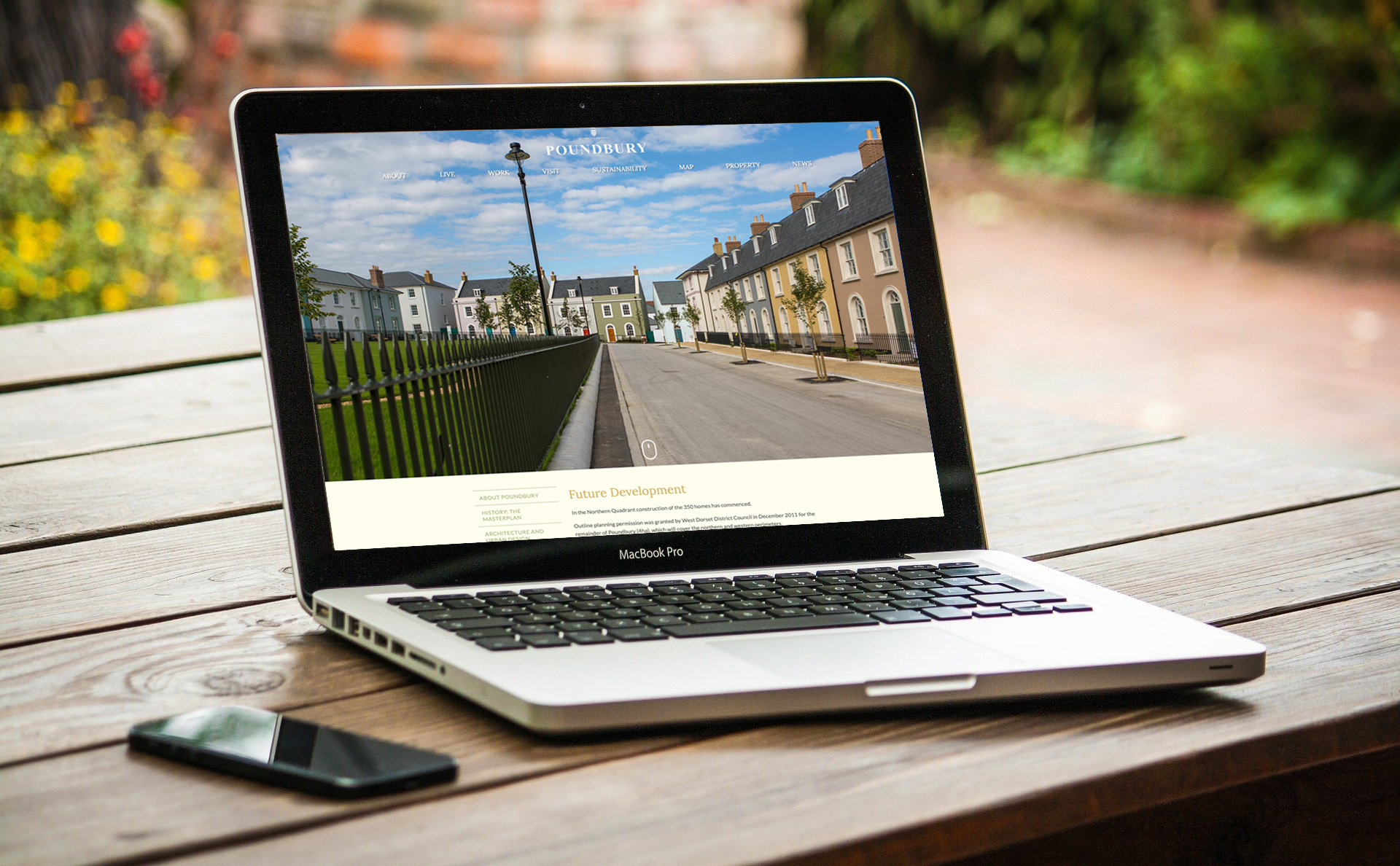 Poundbury website