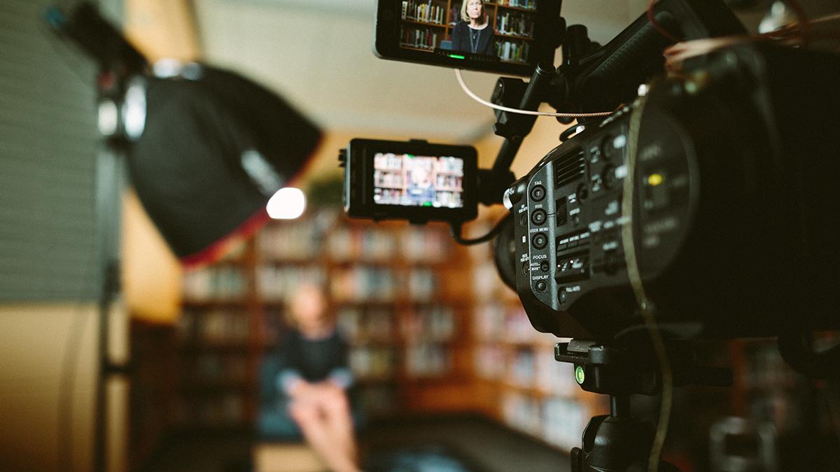 digital pr video interview