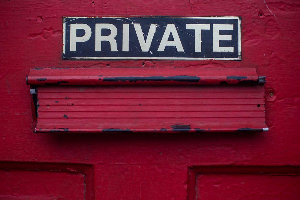 private letterbox