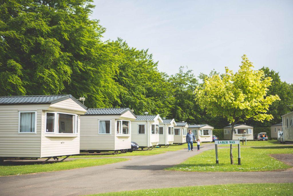 forest glade holiday park caravans
