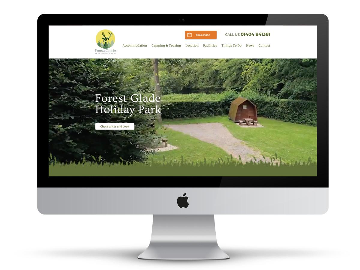 forest glade holiday park website