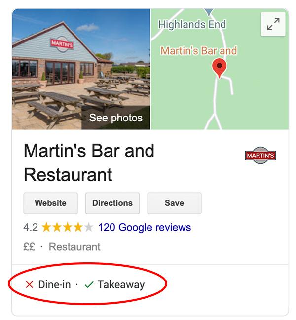 Martins Bar - Covid Info