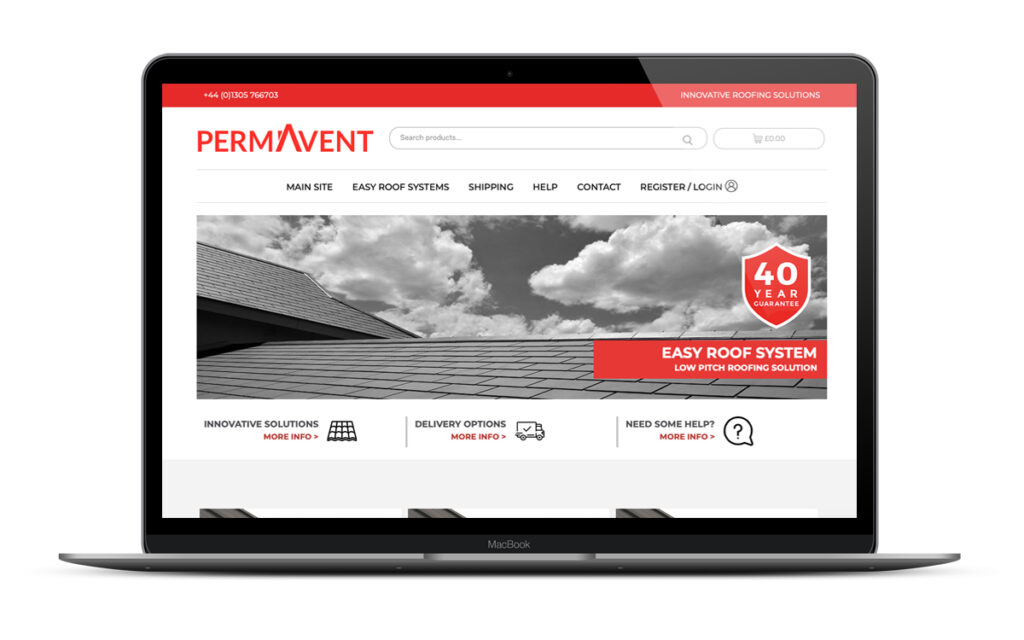 permavent website shop