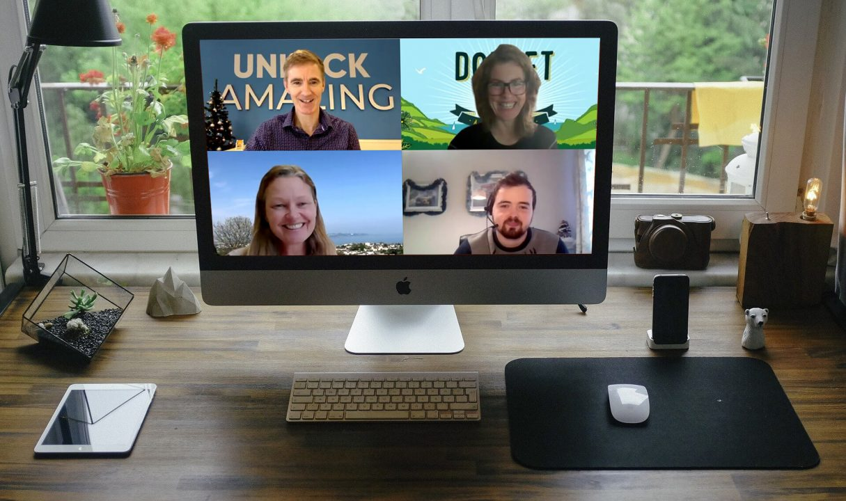 unlock online panel discussion on zoom