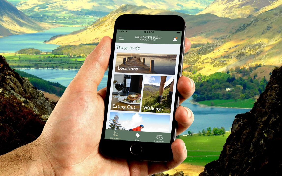 Skelwith Fold Caravan Park Mobile App Goes Live