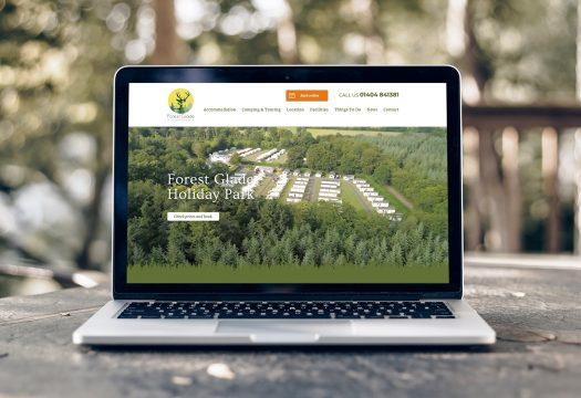 Holiday Park Website Design