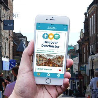 discover Dorchester app