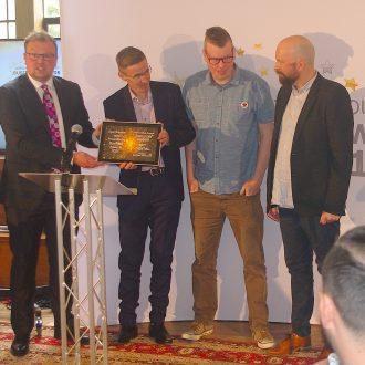 key digital win innovation award at dorchester & Poundbury business awards 2021